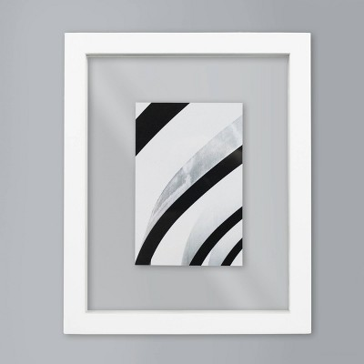 4  x 6  Thin Gallery Float Frame White - Made By Design™