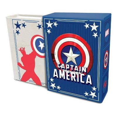 Marvel Comics: Captain America (Tiny Book) - by  Matt Singer (Hardcover)