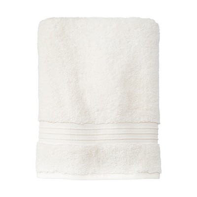 Spa Stripe Bath Towel Cream - Fieldcrest®