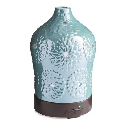 100ml Iridescent Floral Ultrasonic Diffuser - Candle Warmers Etc.