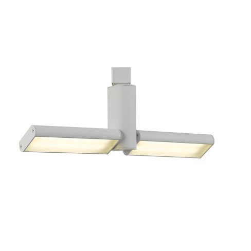 Integrated Led Track Fixture White 23 3 X20 Ceiling Lights Cal Lighting Target