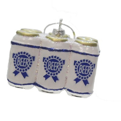 Holiday Ornament 2 25 Six Pack Of Beer Ormament Christmas Beverage Ale Tree Ornaments Target