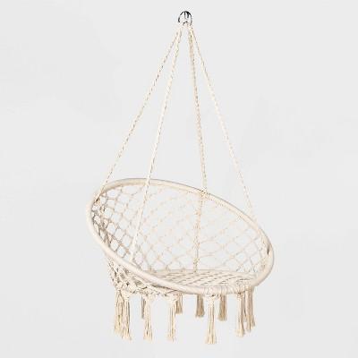 Hanging Rope Hammock Chair Tan - Opalhouse™