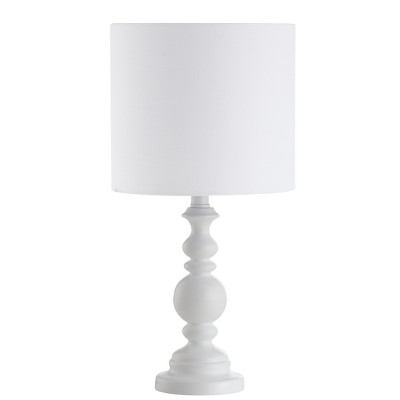 Harrington Table Lamp White 9 x18  (Includes Energy Efficient Light Bulb)- Safavieh