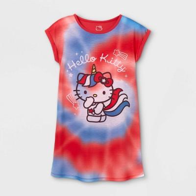 Girls' Hello Kitty Americana Dorm NightGown
