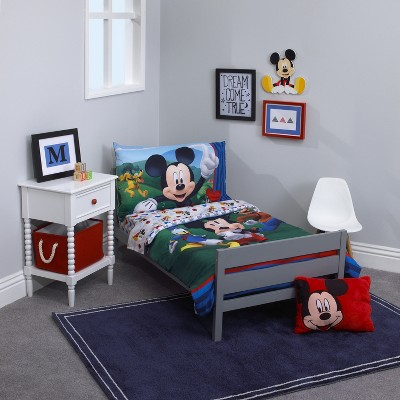 mickey mouse friends mickey mouse toddler bedding set target rh target com mickey mouse bedding set crib mickey mouse bedding set for adults