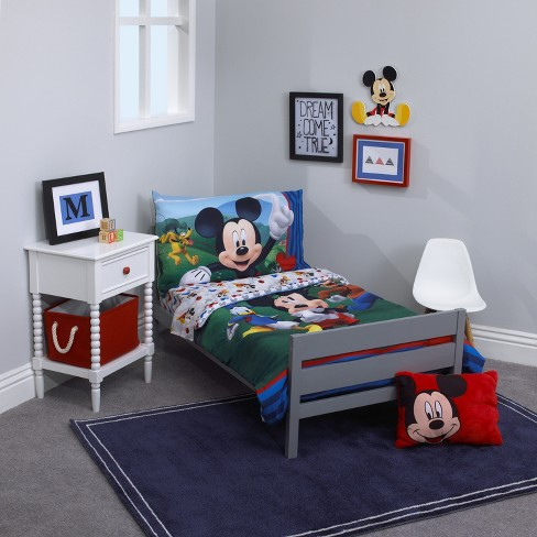 Cheap Bedroom Sets Mickey Mouse Toddler Furniture Bed Toy Organizer ...