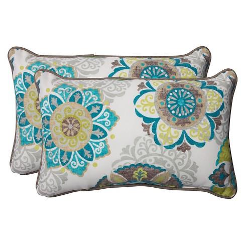 Pillow Perfect Allodala Outdoor 2 Piece Lumba Target