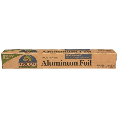 If You Care 100% Industrial Recycled Aluminum Foil - 50 sq ft