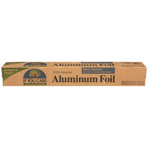 If You Care 100% Industrial Recycled Aluminum Foil - 50 sq ft - image 1 of 4