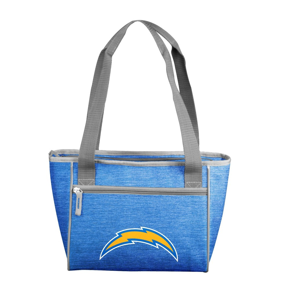 Nfl Los Angeles Chargers Crosshatch 16 Can Cooler Tote