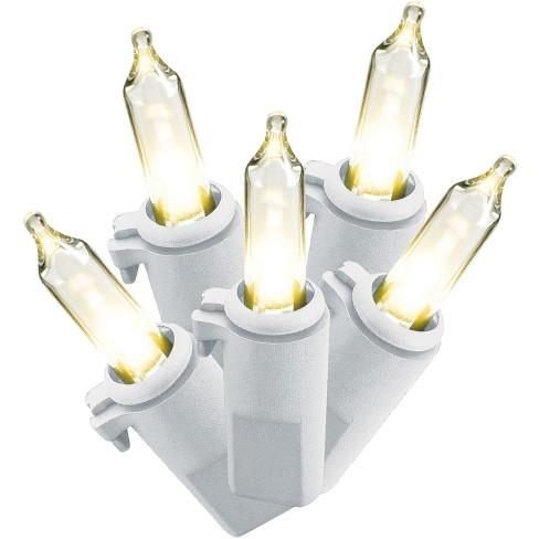 philips 60ct christmas led smooth mini string lights warm white ww