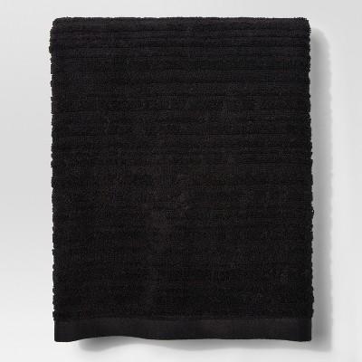 Textured Bath Towel Ebony - Project 62™