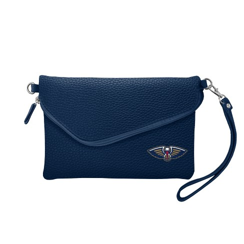 NBA New Orleans Pelicans Fold Over Pebble Crossbody Bag - image 1 of 1