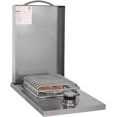 Blaze Grills 12,000 BTU Built-In Stainless Steel LTE Single Side Burner for Outdoor Grill, Natural Gas