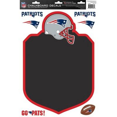 NFL New England Patriots Chalkboard Decals