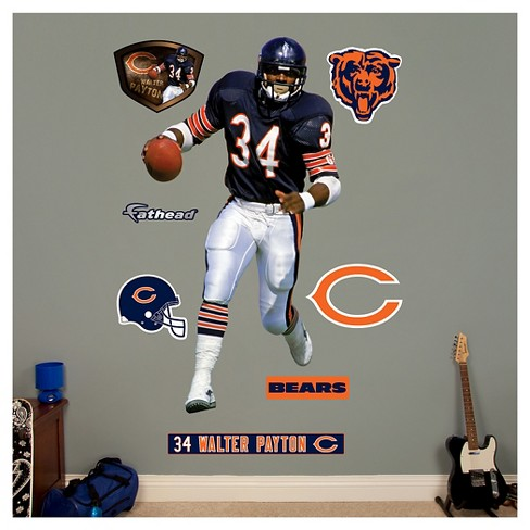 "Chicago Bears Fathead® Decorative Wall Art Set - 52""x4""x4"" - image 1 of 1"
