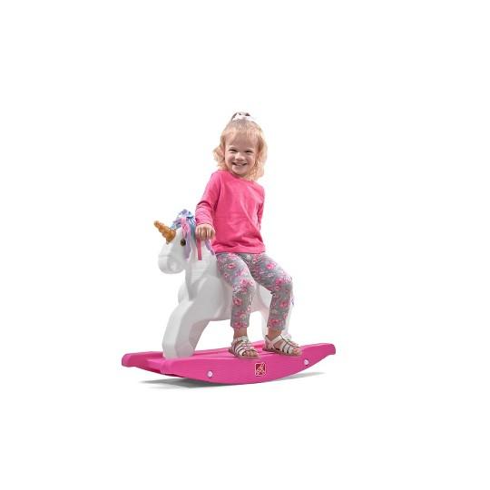 Step2 Unicorn Rocking Horse image number null
