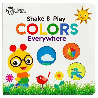 Colors Everywhere - (Baby Einstein)by Scarlett Wing (Board_book)