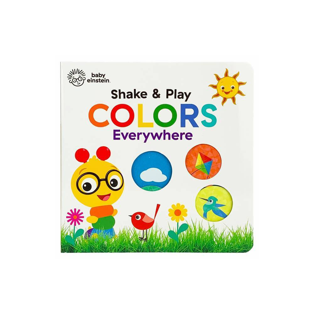 Colors Everywhere Baby Einstein By Scarlett Wing Board Book