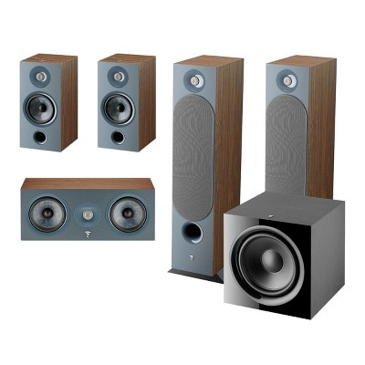 Focal Chora 5.1 Channel Home Theater System (Dark Wood)