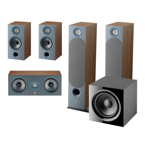 Focal Chora 5.1 Channel Home Theater System (Dark Wood) - image 1 of 4
