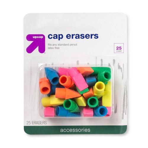 Cap Erasers 25ct - Up&Up