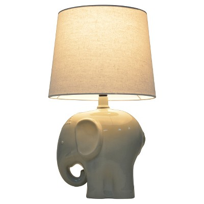 Elephant Table Lamp Gray - Pillowfort™