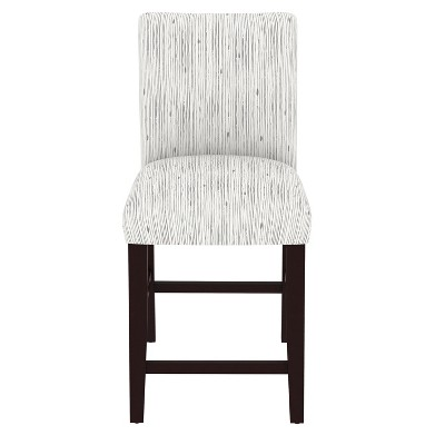 Parsons Counter Stool Shibori Stripe Gray - Threshold™