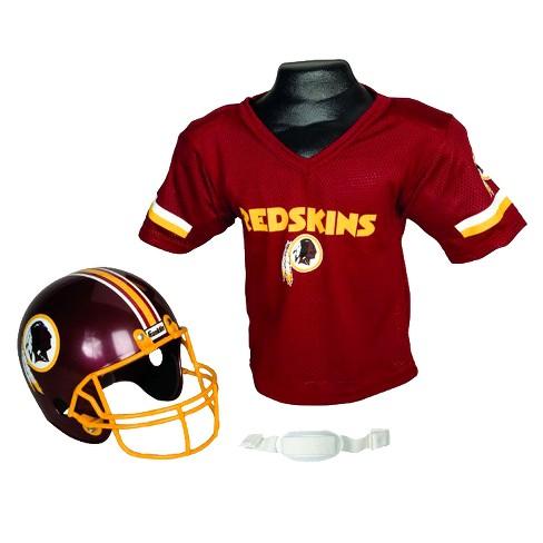b7decc28b02 Franklin Sports NFL Team Helmet And Jersey Set - Ages 5-9 ...