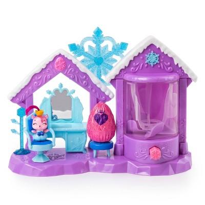 Hatchimals CollEGGtibles Glitter Salon Playset with 2 Exclusive Hatchimals