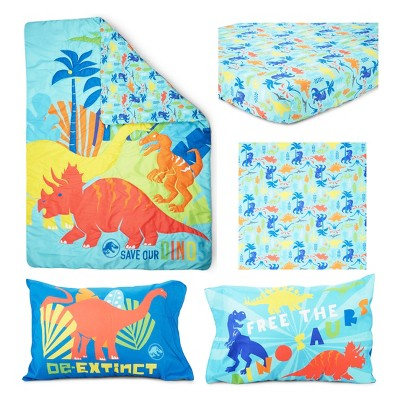 Jurassic World 4pc Toddler Bedding Set