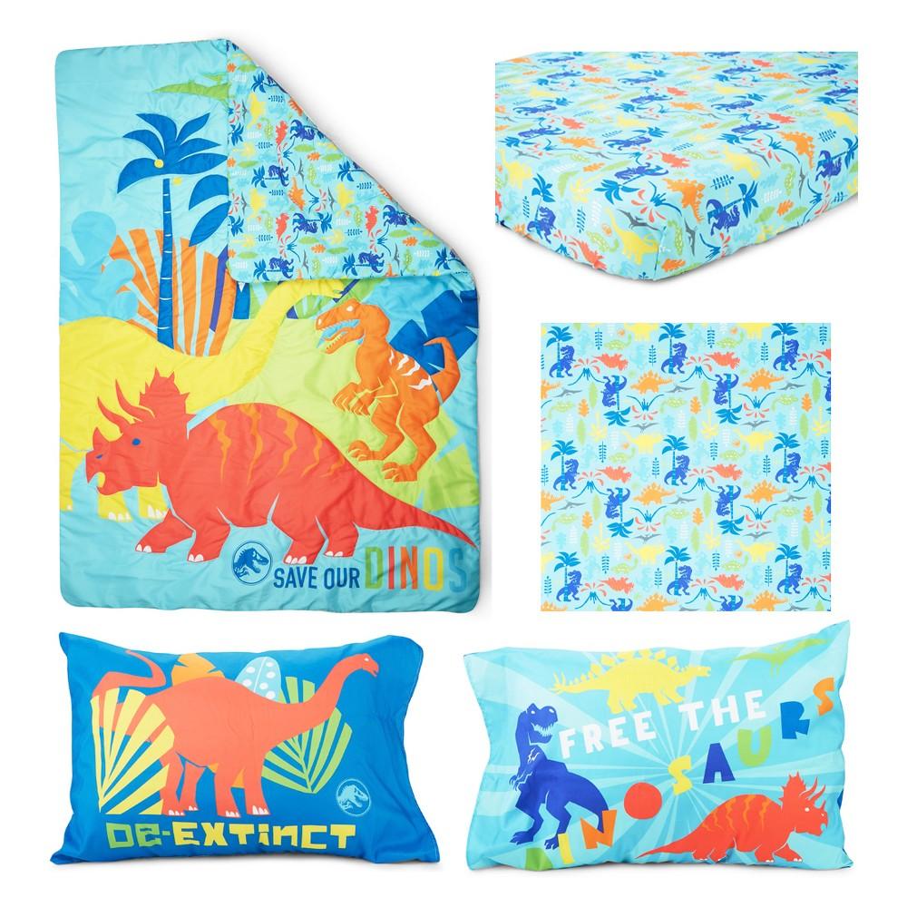 Image of Jurassic World 4pc Toddler Bedding Set, Multi-Colored