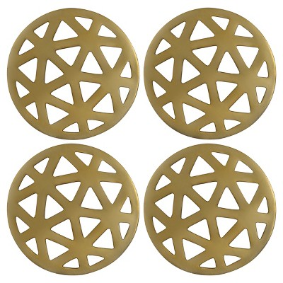 Thirstystone Coasters Set of 4 - Gold