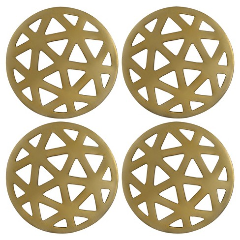 Thirstystone Coasters Set of 4 - Gold - image 1 of 1