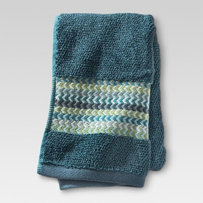 Geometric Hand Towel Cool - Threshold™