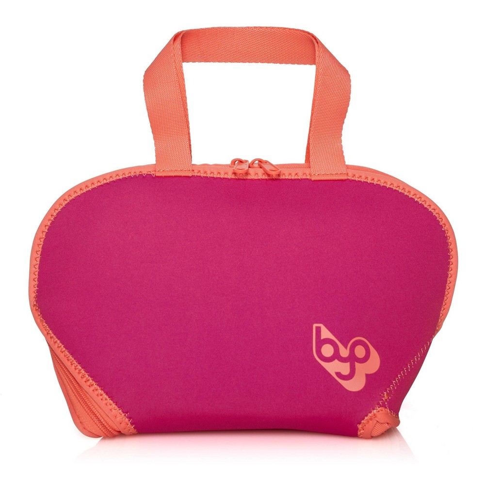 Image of BYO Placemat Lunch Tote- Pink/Orange