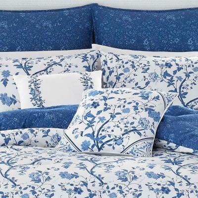 Perfect Navy Elise Comforter Set   Laura Ashley : Target