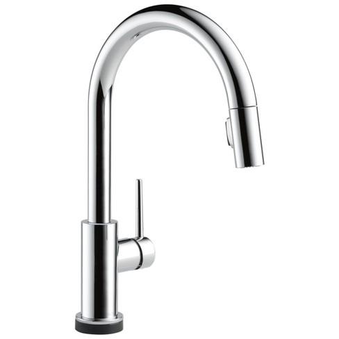 Delta Faucet 9159TV-DST Trinsic VoiceIQ Voice Activated Pull Down Kitchen Faucet - image 1 of 4