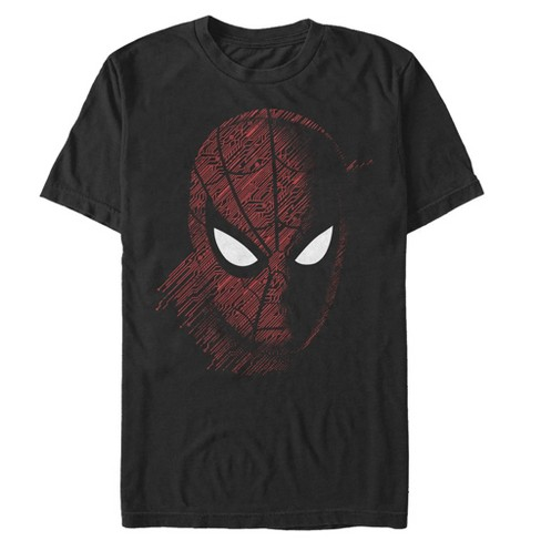 Men's Marvel Spider-Man: Far From Home Tech Pattern T-Shirt - image 1 of 1