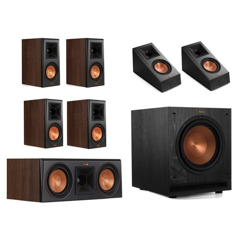 Klipsch RP-600M 5.1.2 Dolby Atmos Home Theater System - image 1 of 4