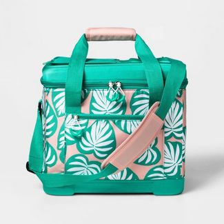 24 Can Cooler Palm Leaf - Sun Squad™