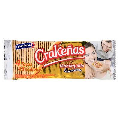 Colombina Mantequilla Crakenas Tacos - 11.43oz - 4ct