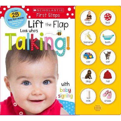 Look Who's Talking! - by Scholastic Inc. & Scholastic Early Learners (Paperback)