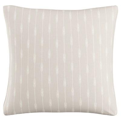 Gray Sprint Stripe Polyester Throw Pillow (20 x20 )- Skyline Furniture®