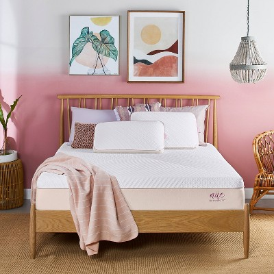 """nüe by Novaform Advanced Support 10"""" Foam Mattress with Antimicrobial Product Protection"""