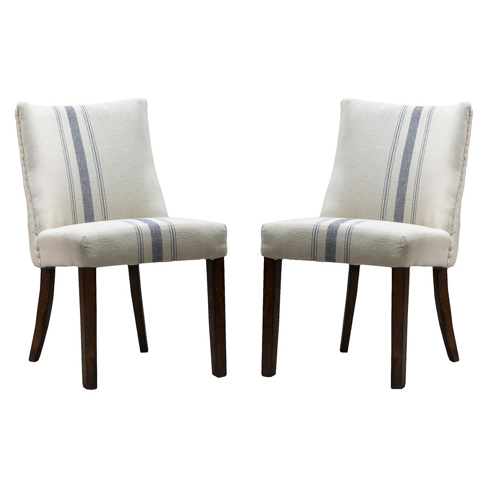 Christopher Knight Home Harman Dining Chair - White (Set of 2)
