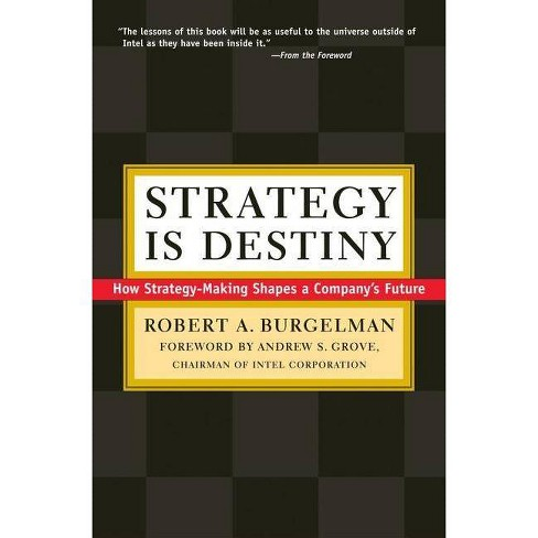 Strategy Is Destiny - by  Robert A Burgelman (Hardcover) - image 1 of 1
