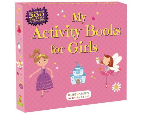 My Activity Books for Girls (Paperback) - image 1 of 1