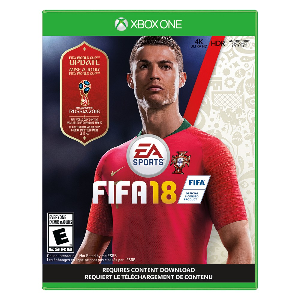 FIFA 18 - Xbox One, video games